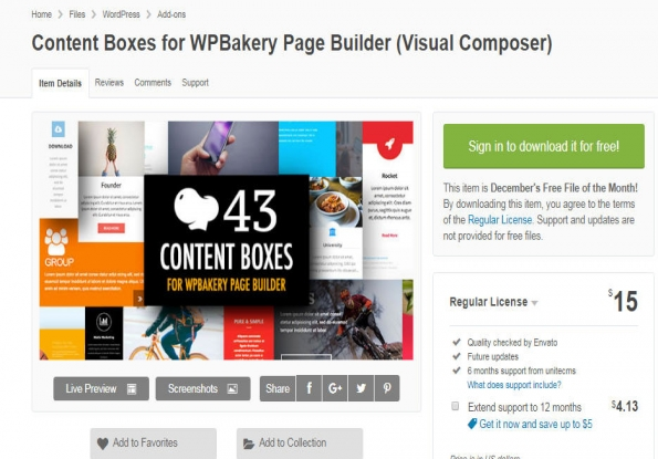 Content Boxes for WPBakery Page Builder