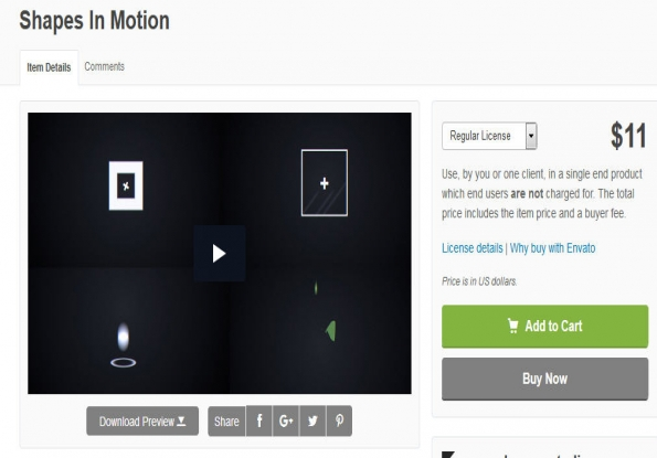 footage Shapes In Motion