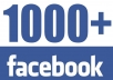 Give You 1000 Facebook Fanpage Likes